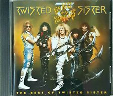 Twisted Sister  Big Hits And Nasty Cuts The Best Of Twisted Sister Cd New