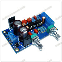 Low-pass Filter NE5532 Subwoofer Pre-Amplifier Preamp Volume Control Board Kits