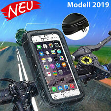 Wasserdichte Handyhalterung für Fahrrad Motorrad Universal Handys bis 13,7x7 cm