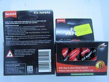RENTOKIL FLY PAPERS---2 packs of 8