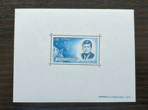 MONACO 1964 Cat £450 MNH JF KENNEDY PERFORATED MS UNMOUNTED MINT
