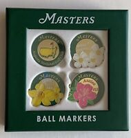 2021 Masters golf ball markers floral 4 pack augusta national new