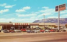 Photo. 1972-3. Albuquerque, New Mexico. Holland Lincoln-Mercury auto dealership