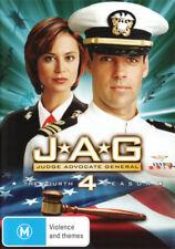 Jag - Complete Season 4 DVD [New/Sealed]