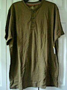 Mens Henley Shirt Size 2X  Outdoor Life  Assorted Colors