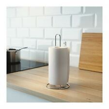 IKEA TORKAD Galvanised Steel Kitchen Roll Holder Paper Towel Rack Stand or Wall