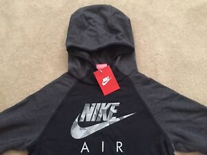 NEW Boys Nike Air Flash Hoodie Top Casual Sports Wear Limited Edition RRP£54.99
