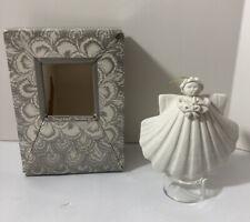 Margaret Furlong Bouquet Sea Shell Angel 1987 Christmas Ornament with Box