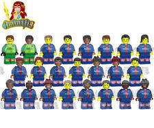 LEGO Soccer Paris Saint Germain 18 19 Team 23 Players Neymar Custom Minifigure