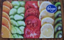 Rare KROGER Grocery Store Collectible Gift Card NO CASH VALUE Vegetables Fruit