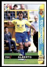 Mundicromo Las fichas de la Liga 98 99 Alberto Villareal No. 354