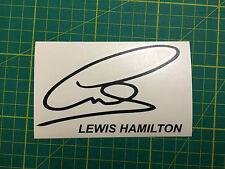 Lewis Hamilton firma Decal Sticker F1 #44 campeón del mundo