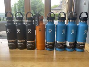 Hydro Flask Water Bottle Pro-Grade Stainless Steel 21oz black blue orange NEW
