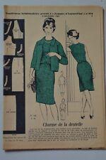 """ FEMMES D'AUJOURD'HUI "" PATRON SUPPL. N°918 // ENSEMBLE ROBE ET VESTE T44"