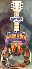Hard Rock Cafe LAS VEGAS STRIP 2016 Guitar MAGNET Bottle Opener V15 City Icons!
