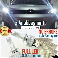 Kit Anabbaglianti FULL LED H7 Citroen SPACETOURER JUMPY JUMPER C8 6500K CANBUS