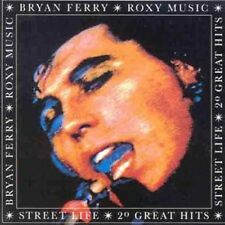 Bryan Ferry/Roxy Music Street Life-20 Great Hits CD NEW SEALED Virginia Plain+