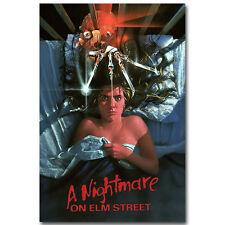"A Nightmare on Elm Street USA Horror Movie New Silk Poster 12x18"" 24x36"" 002"