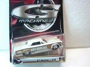 HOT WHEELS G MACHINES 1:50 67' PONTIAC GTO