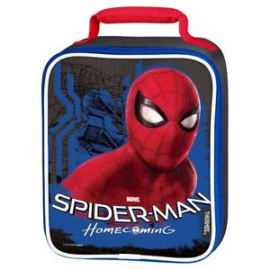 NEW Thermos Marvel Spider-man Homecoming Insulated Soft Upright Lunch Box Bag