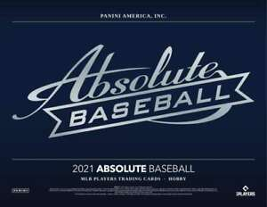 Josh Fleming  2021 Absolute Baseball Case Break 10x Player Box Break 4
