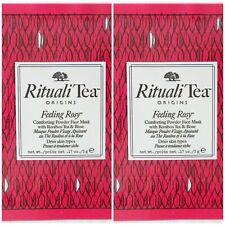 ORIGINS Rituali Tea Feeling Rosy powder face mask for drier skins ~ 2 samples