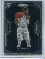 TYLER BEY RC 2020-21 PANINI PRIZM BASE ROOKIE CARD #251 DALLAS MAVERICKS  1