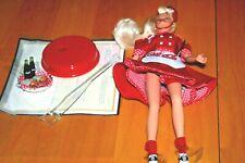 1996 COCA COLA Waitress Barbie Doll Car Hop-NO BOX-Never Played With