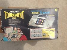 UNISONIC TOURNAMENT 200 ELECTRONIC ACTION TV GAME UNTESTED AS-IS