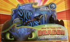 DreamWorks Spin Master The Hidden World HICCUP & TOOTHLESS Painted Wings