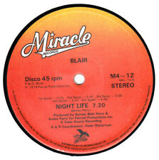 "70s 80s Disco Soul Dance BLAIR night life Rare 1979 UK 12"" Vinyl 45 N Mint"