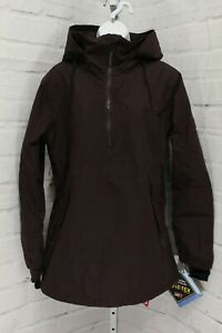 Volcom Fern Insulated Gore-Tex Pullover Jacket, Women's Size M, Black/Red NEW