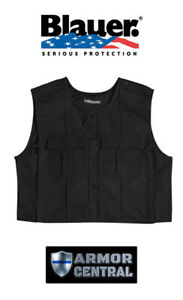 New Blauer BLACK FlexRS ArmorSkin XP Vest Outer Carrier Uniform Cover 8360XP
