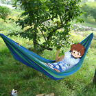 1/2 Person Fabric Hammock +Bag Air Swing Chair Rope Tree Hanging Outdoor Camping
