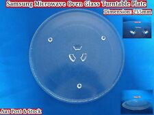 Samsung Microwave Oven Spare Parts Glass Turntable Plate Platter 255mm (W3) NEW