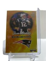 2000 Tom Brady Rookie Phenoms Gold Edition Limited Edition Rookie Card