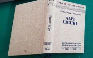 ALPI LIGURI Guida dei Monti d'Italia CAI-TCI 1981 TOURING CLUB ITALIA