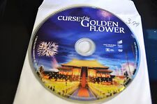 Curse of the Golden Flower (DVD, 2007)Disc Only Free Shipping