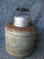 Antique Rare Therm-a-Jug Monarch Ceramic Lined Thermos Jug