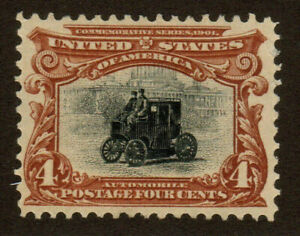 1901 US SC 296 Pan American Exposition 4c Deep Red Brown & Black MNG VF/XF