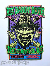 Dirty Donny Ed Roth 2008 Silkscreen Poster Rat Fink Memorabilia Car Show Mint