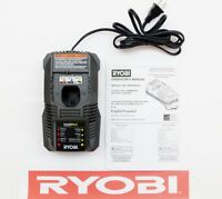 RYOBI ONE+ 18 V 18 VOLT DUAL CHEMISTRY LITHIUM NICAD BATTERY CHARGER P118