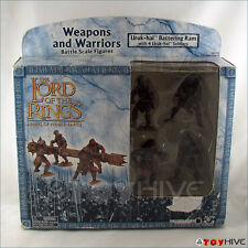 LOTR AOME Lord of the Rings Uruk-Hai and Battering Ram damaged box