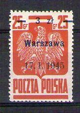 POLOGNE POLSKA Yvert n° 439a neuf avec charnière