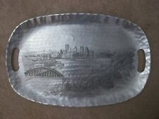 Pittsburgh Decorative Tray Silver 12X18 Wendell August