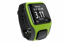 GPS Tomtom EcoTread Triatlón Reloj & socio de capacitación gráficas-Verde