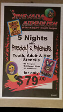 YOUTH ADULT HAT TSHIRT STENCILS PACKAGE 4 30 INDIVIDUAL DESIGNS FREDDY & FRIENDS