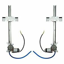 2 Door Flat Power Window Kit U-Wire Driver/Passengers Street  AUTPW5500 truck