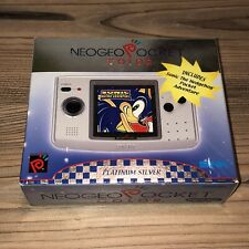 NEO GEO POCKET COLOR SONIC Limited Edition USA NEW Sealed SNK Platinum Silver