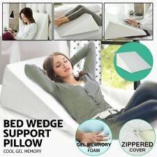 Large Size Elevating Leg Rest Wedge Bed Pillow Acid Reflux Pain Support Cushion